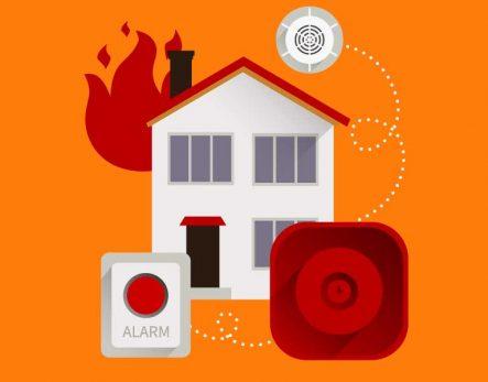 Adana Kamera Güvenlik Sistemleri, Yangın Alarm Sistemleri