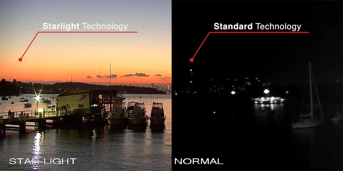Adana Kamera Sistemleri, Dahua Starlight Kamera